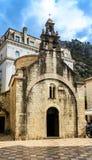 Παλαιά πέτρινη εκκλησία σε Kotor με τα κουδούνια Στοκ Εικόνες