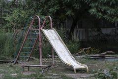παλαιά παιδική χαρά Στοκ εικόνα με δικαίωμα ελεύθερης χρήσης