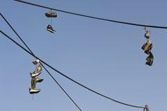 παλαιά παπούτσια στοκ φωτογραφία