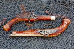 παλαιά πιστόλια Στοκ Εικόνα