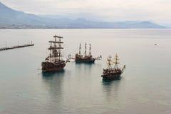 Παλαιά πλέοντας σκάφη στοκ εικόνα