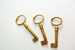 Παλαιά πλήκτρα μετάλλων Στοκ φωτογραφίες με δικαίωμα ελεύθερης χρήσης