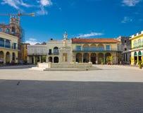 παλαιά πλατεία της Κούβας Αβάνα Στοκ εικόνες με δικαίωμα ελεύθερης χρήσης