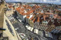 Παλαιά πλατεία της πόλης της Πράγας, καθεδρικός ναός Tyn Στοκ εικόνα με δικαίωμα ελεύθερης χρήσης