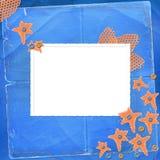 παλαιά πορτοκαλιά αστέρι&al Στοκ Εικόνες