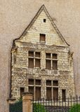 Παλαιά πρόσοψη στη Angers στην κοιλάδα της Loire στη Γαλλία Στοκ Εικόνα