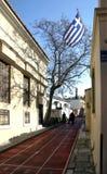 παλαιά πόλης διαδρομή φυλ στοκ φωτογραφία με δικαίωμα ελεύθερης χρήσης