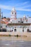 Παλαιά πόλης κτήρια, Λάγκος, Πορτογαλία Στοκ εικόνα με δικαίωμα ελεύθερης χρήσης
