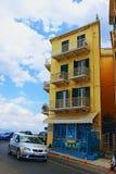 Παλαιά πόλης οδός Ελλάδα της Κέρκυρας Στοκ εικόνες με δικαίωμα ελεύθερης χρήσης