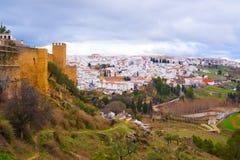 Παλαιά πόλη, άσπρο χωριό Ronda, Ανδαλουσία, Ισπανία Στοκ Φωτογραφία