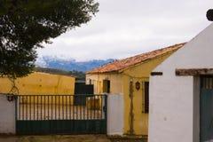 Παλαιά πόλη, άσπρο χωριό Ronda, Ανδαλουσία, Ισπανία Στοκ φωτογραφία με δικαίωμα ελεύθερης χρήσης