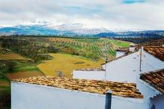 Παλαιά πόλη, άσπρο χωριό Ronda, Ανδαλουσία, Ισπανία Στοκ Φωτογραφίες