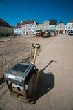 παλαιά πόλη ανακαίνισης στοκ φωτογραφίες