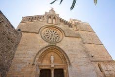 Παλαιά πόλη, εκκλησία Sant Jaume σε Majorca Alcudia, Μαγιόρκα, των Βαλεαρίδων $νήσων νησί, Ισπανία 28 06 2017 Στοκ Φωτογραφία