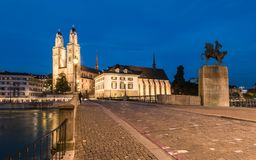 παλαιά πόλη Ζυρίχη Στοκ εικόνα με δικαίωμα ελεύθερης χρήσης