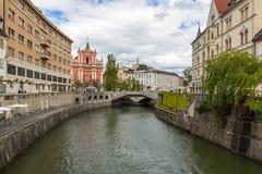 Παλαιά πόλη και φραντσησθανή εκκλησία Annunciation Στοκ φωτογραφίες με δικαίωμα ελεύθερης χρήσης