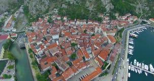 Παλαιά πόλη και παλαιά πόλη απόθεμα βίντεο