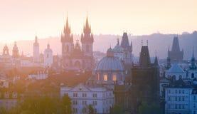 παλαιά πόλη κώνων της Πράγας στοκ φωτογραφίες