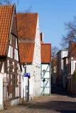 παλαιά πόλη οδών klaipeda Στοκ Φωτογραφία