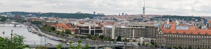 παλαιά πόλη πανοράματος στοκ φωτογραφία