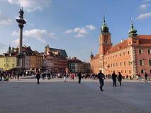 Παλαιά πόλη στη Βαρσοβία στοκ φωτογραφία