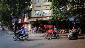 Παλαιά πόλη στο Ανόι, Βιετνάμ στοκ φωτογραφία με δικαίωμα ελεύθερης χρήσης