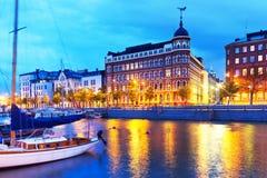 Παλαιά πόλη στο Ελσίνκι, Φινλανδία Στοκ Φωτογραφίες