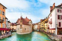 Παλαιά πόλη στο Annecy, Γαλλία Στοκ φωτογραφία με δικαίωμα ελεύθερης χρήσης