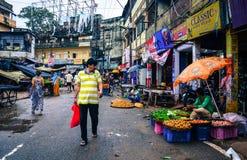 Παλαιά πόλη στο Varanasi, Ινδία Στοκ Φωτογραφία