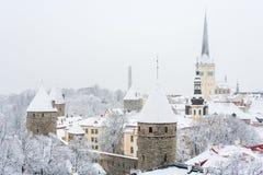 Παλαιά πόλη. Ταλίν, Εσθονία Στοκ εικόνα με δικαίωμα ελεύθερης χρήσης