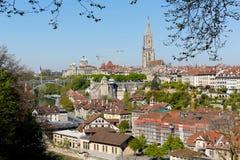 Παλαιά πόλη της Βέρνης και της αρχιτεκτονικής του Στοκ Φωτογραφίες