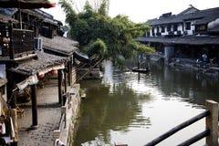 παλαιά πόλη της Κίνας Στοκ Εικόνες