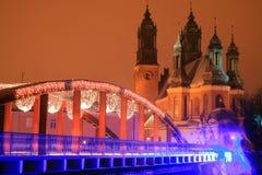 παλαιά πόλη της Πολωνίας Πό&zet Στοκ Εικόνα