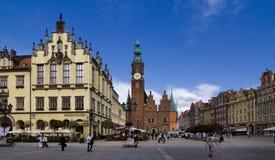 παλαιά πόλη της Πολωνίας wroclaw Στοκ εικόνα με δικαίωμα ελεύθερης χρήσης