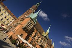 παλαιά πόλη της Πολωνίας wroclaw Στοκ Εικόνες