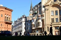 παλαιά πόλη της Ρήγας Στοκ εικόνα με δικαίωμα ελεύθερης χρήσης