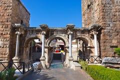 παλαιά πόλη Τουρκία kaleici antalya Στοκ Εικόνες