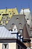 παλαιά πόλη του Κεμπέκ Στοκ Εικόνες