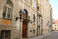 παλαιά πόλη του Ταλίν Στοκ φωτογραφία με δικαίωμα ελεύθερης χρήσης