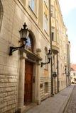 παλαιά πόλη του Ταλίν Στοκ Φωτογραφίες