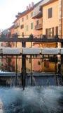 Παλαιά πόλη του Annecy, κραμπολάχανο, Γαλλία Στοκ φωτογραφίες με δικαίωμα ελεύθερης χρήσης