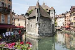 Παλαιά πόλη του Annecy στη Γαλλία Στοκ φωτογραφία με δικαίωμα ελεύθερης χρήσης