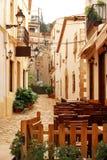 Παλαιά πόλη Alcudia Στοκ Εικόνες