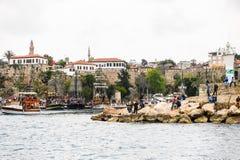 Παλαιά πόλη Antalya, Τουρκία Στοκ φωτογραφία με δικαίωμα ελεύθερης χρήσης