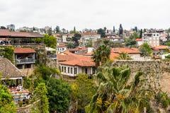 Παλαιά πόλη Antalya, Τουρκία Στοκ εικόνα με δικαίωμα ελεύθερης χρήσης