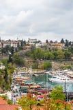 Παλαιά πόλη Antalya, Τουρκία Στοκ εικόνες με δικαίωμα ελεύθερης χρήσης