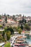 Παλαιά πόλη Antalya, Τουρκία Στοκ Φωτογραφίες