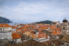 Παλαιά πόλη Dubrovnik στην Κροατία Στοκ Εικόνες