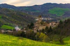 Παλαιά πόλη Feltria Macerata στοκ εικόνες με δικαίωμα ελεύθερης χρήσης