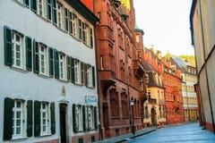 Παλαιά πόλη Freiburg Στοκ εικόνες με δικαίωμα ελεύθερης χρήσης